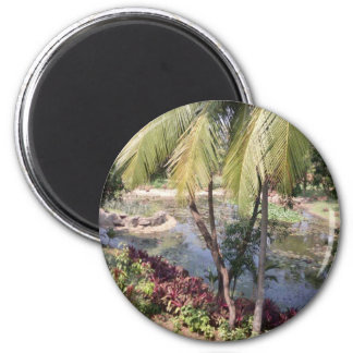 Goa India Garden Magnet