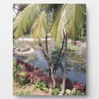 Goa India Garden Plaque