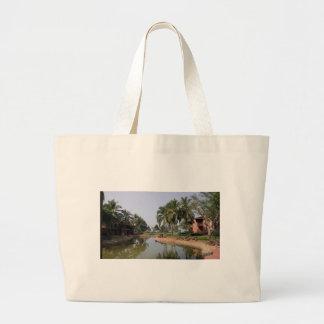 Goa India Large Tote Bag