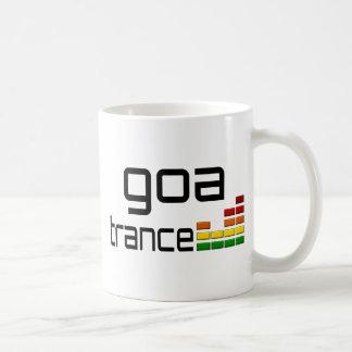 Goa Trance Music with Stereo Equalizer Coffee Mug