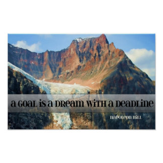 Goal - A Dream With A Deadline Poster