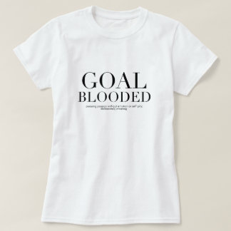 Goal Blooded Short Sleeve Tee