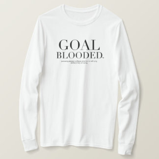 Goal Blooded Tee