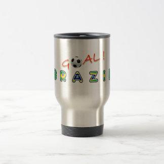 GOAL Brazil Coffee Mug