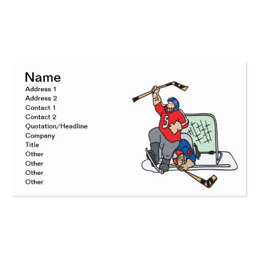 Goal Business Card Templates