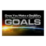 Goal Decision Poster