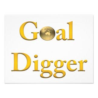 Goal Digger Products Custom Invitation