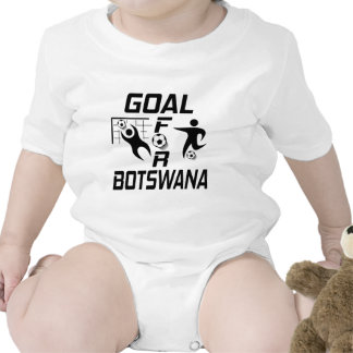 Goal For Botswana. Bodysuits