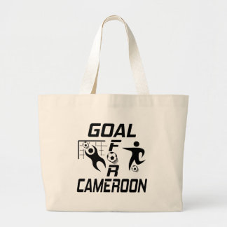 Goal For Cameroon. Canvas Bag