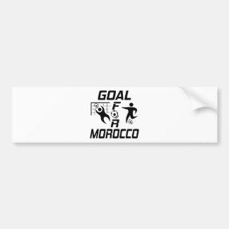 Goal For Morocco Bumper Sticker