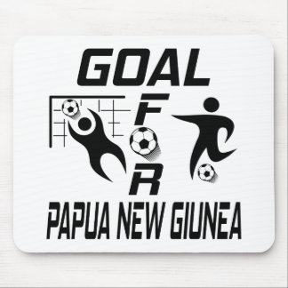 Goal For Papua new giunea Mouse Pad