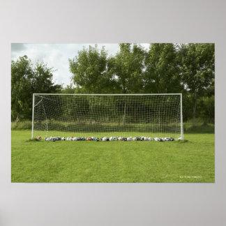 Goal Full of Balls Poster