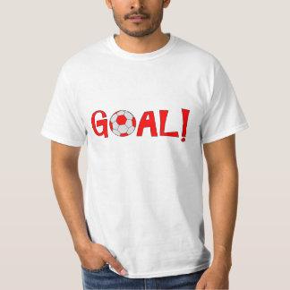Goal - Funny Football Soccer T Shirts for Men