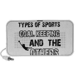 Goal keeper designs for lovers of the sport speakers