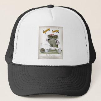 goal keeper 'reds' trucker hat