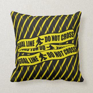 Goal Line Do Not Cross Field Hockey Goalie Pillow Cushion