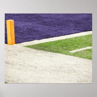 Goal Line Marker Poster