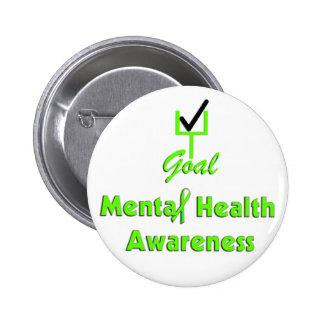 GOAL Mental Health Awareness buttons