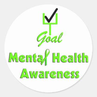 GOAL Mental Health Awareness stickers