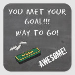Goal Met!!! Stickers for Students