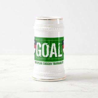 Goal Nederland Netherlands European Soccer Beer Mug