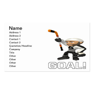 Goal Pack Of Standard Business Cards