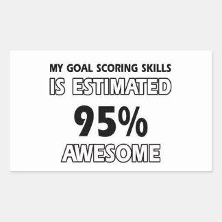 goal scoring designs stickers