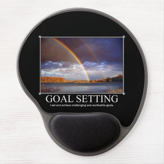 Goal Setting Custom Mousepad Gel Mouse Mat