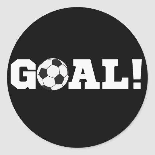 Goal! Soccer Stickers