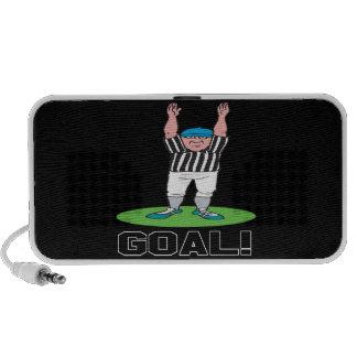 Goal Notebook Speakers