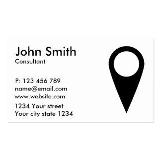 Goal symbol pack of standard business cards