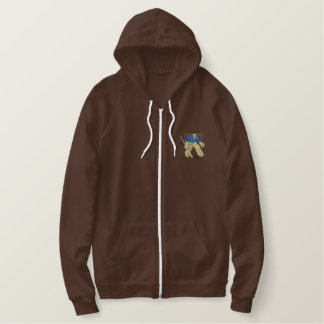 Goalie Embroidered Hoodie
