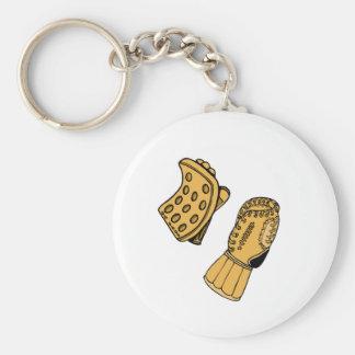 Goalie Gloves Key Ring