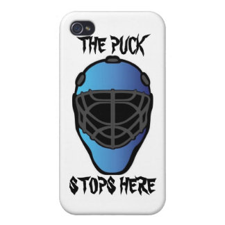 goalie mask iPhone 4 cases