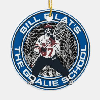 Goalie School Ornament