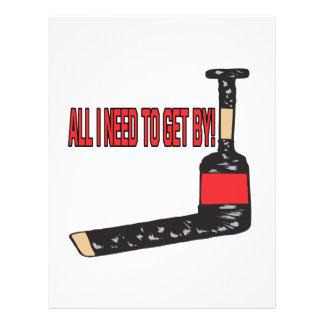 Goalie Stick Custom Flyer