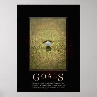 Goals Motivational Parody Poster