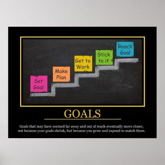 GOALS - Motivational Print for Kids