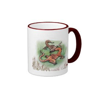 Goannas Gonna Getcha Ringer Mug
