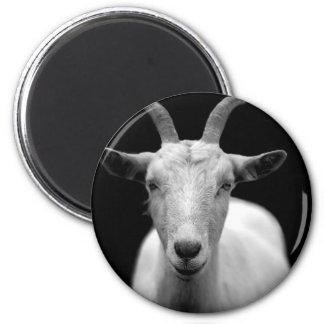 Goat 6 Cm Round Magnet