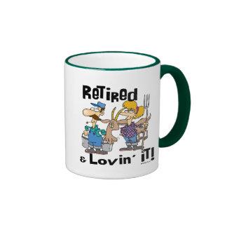 Goat and Retired Family Mugs
