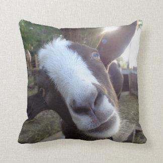 Goat Barnyard Farm Animal Cushion