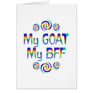 Goat BFF Greeting Cards