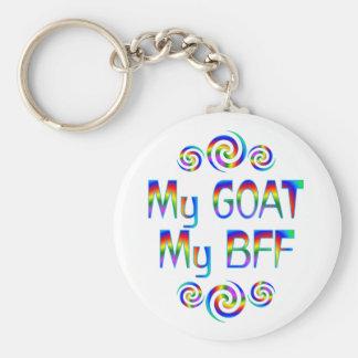 Goat BFF Key Ring