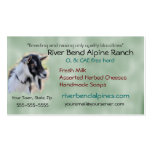 Goat Business Card- customise-add your own photo Pack Of Standard Business Cards