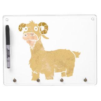 Goat cartoon. dry erase whiteboards
