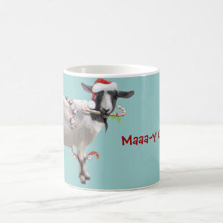 Goat Christmas Coffee Mug