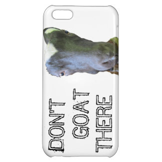"Goat ""DON'T GOAT THERE"" iPhone 5 Case"