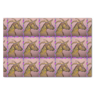 goat drawing tissue paper