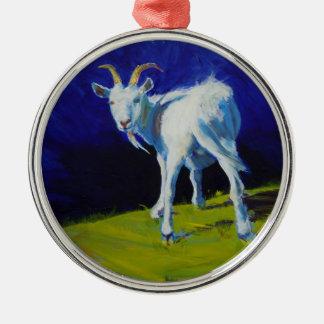 Goat Farm Animal Christmas Tree Ornament